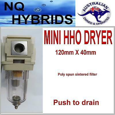 HYDROGEN GENERATOR  GAS DRYER FILTER TRAP & CLEANER  with 1/4 NPT  THREAD   HHO