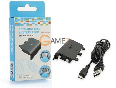 Batterie 600mAh Ni-MH rechargeable + cable de charge usb Pour manette Xbox One