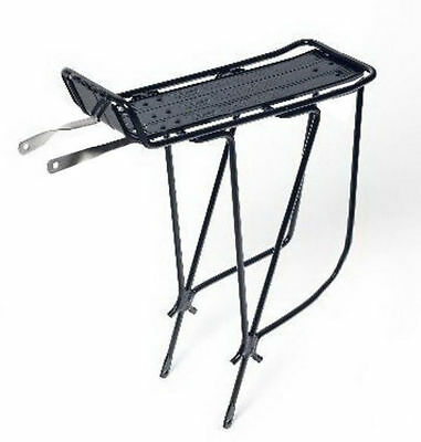 "Bicycle Alloy Rear Pannier Rack Fits 26"" & 700C"