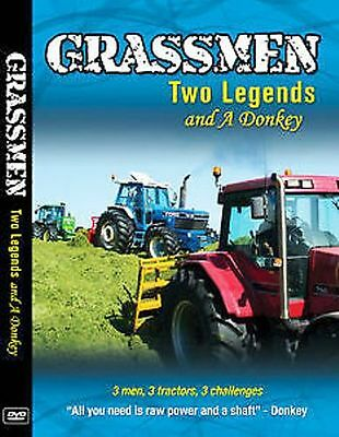 Grassmen Two Legends & A Donkey Dvd - New Release 2014 Farming Dvd