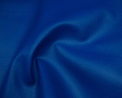 """vinyl Marine Upholstery Blue Auto Boat leather fabric by the yard 54"""" wide ROLL"""