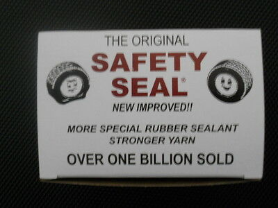 "Safety Seal Tire Plugs--60 Per Box 4"" Brown Tire Plugs"