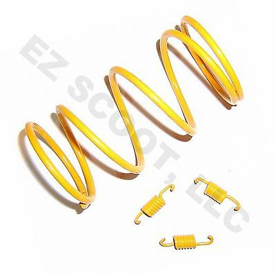 CLUTCH TOURGE SPRING & SPRINGS 1500RPM 50-80cc GY6 4STROKE SCOOTER BMS SUNL BAJA