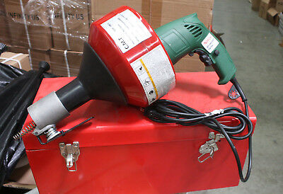 "800W 1HP Electric Snake Drain Plumbing Cleaner Auger w/ 30FT 3/8"" Wire Cable"