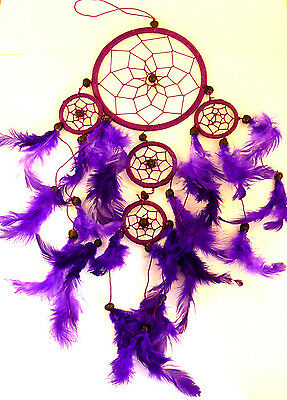 CAPTEUR/ATTRAPEUR DE REVE/DREAM CATCHER COUNTRY VIOLET dreamcatcher PURPLE