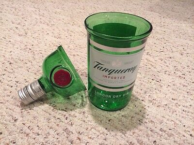 Tanqueray Gin Glass Tumbler Set Of 2 1 Liter