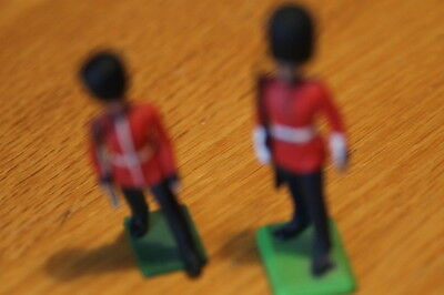 BRITAIN  TOY SOLDIERS early   2  DIFF  GUARDS