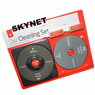 Laser Lens CD Cleaner Cleaning Kit for DVD CD DISC PS2 PS3 XBOX 360 ONE CONSOLES