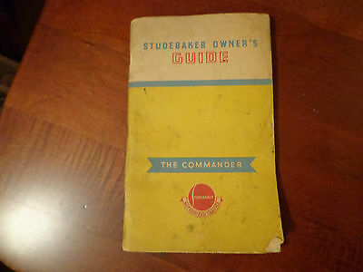 1939 Studebaker Commander Model 9A owners manual Studebaker Authorized Service