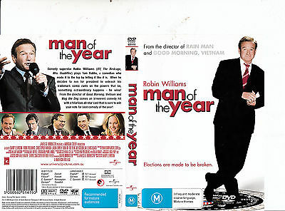 Man of The Year-2006-Robin Williams- Movie-DVD
