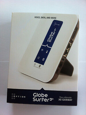 Option Globesurfer III+ Router - 14.4Mbps HSPA+ 3G Router - SMS and Telefon port
