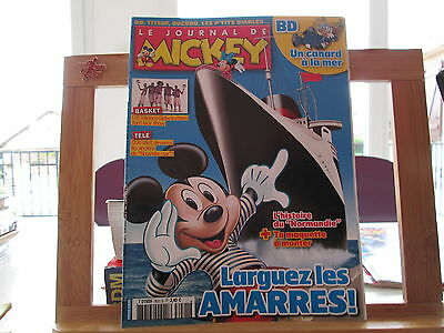 Journal De Mickey N°3021 Be/tbe Sans Maquette