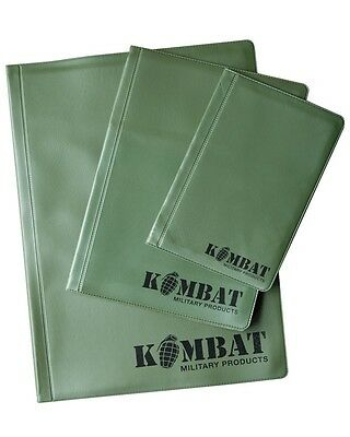 A4 A5 A6 Kombat Uk Nirex Nyrex 20 Page Leaf Orders Note Book Cover Pad Sas Para