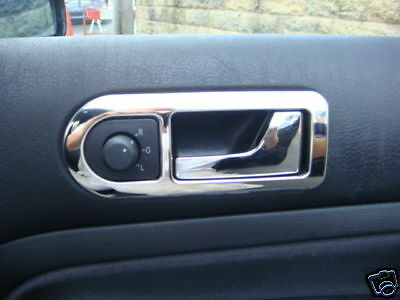 V W Passat B5 Chrome Inner Door Handle Trim, 98 - 05