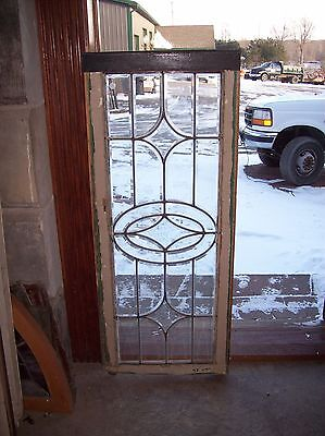 beveled glass 4 pt center feature window  (Sg 1530)
