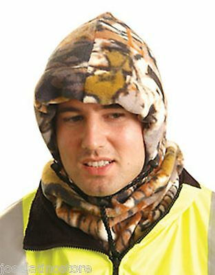 OccuNomix 3 in 1 Fleece Balaclava Winter Liner Camo Color Keep the Heat In