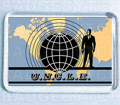 The Man From U.n.c.l.e. Fridge Magnet - Classic Uncle Cool!