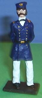 TOY SOLDIERS METAL AMERICAN CIVIL WAR UNION NAVY CAPTAIN 54MM