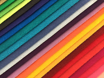 "A4 size Eco Friendly Felt Craft Fabric (approx 9"" x 12"") choose any 7 for £7.00"