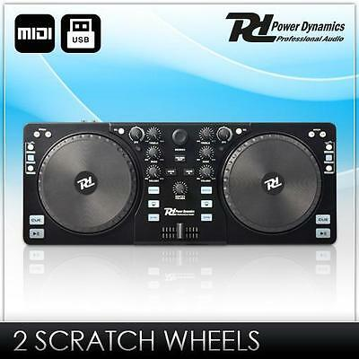 Usb Midi Dj Controller Mp3 Pc Mixer Mischpult Konsole Cue Pitch Loop Equalizer