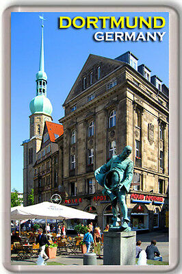 Dortmund Germany Fridge Magnet Souvenir Iman Nevera