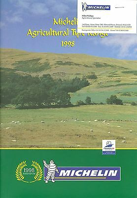 1998 Michelin Agricultural Tyre Range Brochure