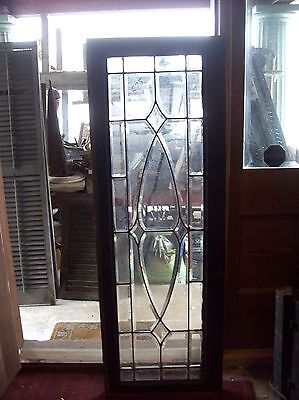 "Beveled glass transom window 54 1/2""  (SG 1577)"