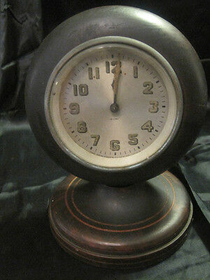 ANTIQUE WOOD CLOCK by Peter Messner