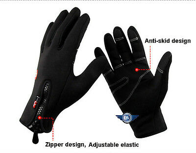 New cold-resistance warmth wind-proof water-repellent gloves for skiing/driving
