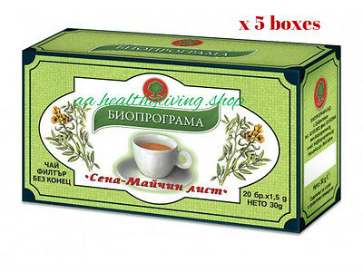 """5x 20bags""""SENNA TEA"""" Natural Product/Colon Cleansing/ Laxative/Detox/Weight Loss"""