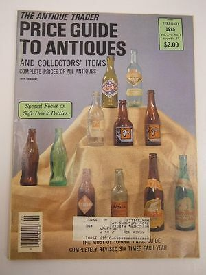The Antique Trader Price Guide To Antiques Magazine February 1985 Issue