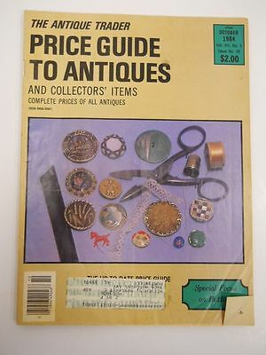 The Antique Trader Price Guide To Antiques Magazine October 1984 Issue