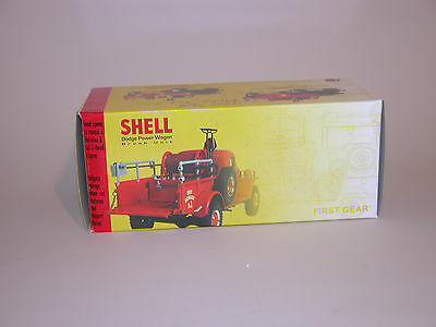 SHELL 1999 DODGE POWER WAGON 7th IN SERIES FIRST GEAR 1:30 DIECAST CHINA MINT