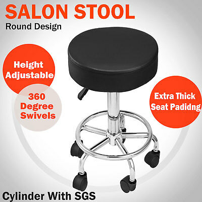 Salon Stool Hairdressing Chair Beauty Barber Swivel PU Equipment Hydraulic Lift