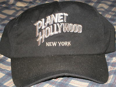 Original 1993 Planet Hollywood New York Purchased At Times Square Hat Cap Worn