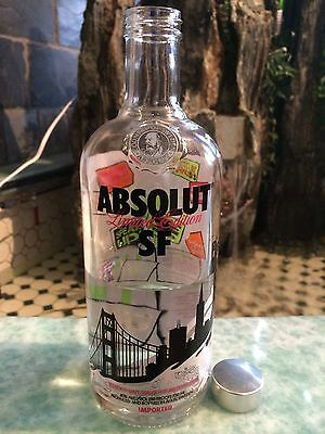 Absolut Vodka SF Limited Edition ,Empty