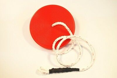 NEW ZLP Manufacturing ZLPDISK Zip Line Red Disk Seat w/ Rope