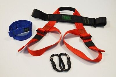 """NEW ZLP Manufacturing HK0003 Child Harness Kit w/ 36"""" Trolley Lanyard"""