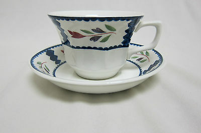 Adams China Lancaster Cup and Saucer, Real English Ironstone, Made in England