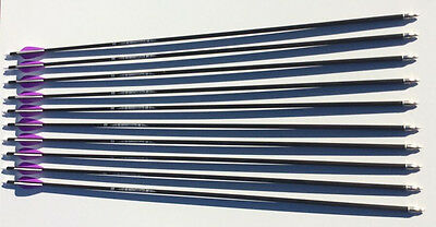 "10 X 32"" Carbonfiber Arrows Upto 70Lb Compound Or Recurve Bow Target And Hunting"