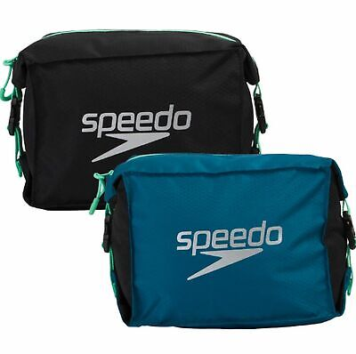 Speedo Pool Side Goggle Bag Case Pouch Swimming Swim Waterproof Gym Wet Kit New