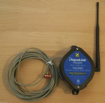 Zodiac IQ900-A iAqualink B00088 Web Connect Transceiver w/ Wiring Harness 10 VDC