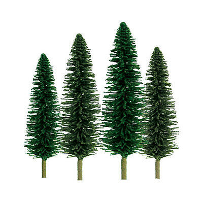 "JTT SCENERY 92029 SUPER SCENIC CEDAR TREES 1"" to 2""  Z-SCALE 55/PK  JTT92029"
