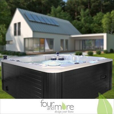 Luxus Outdoor SPA Whirlpool Aussenwhirlpool Hot Tub für bis zu 5 Per Balboa Pool