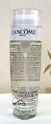 Lancome Eau Micellaire Douceur 200ml Full Size New & Sealed