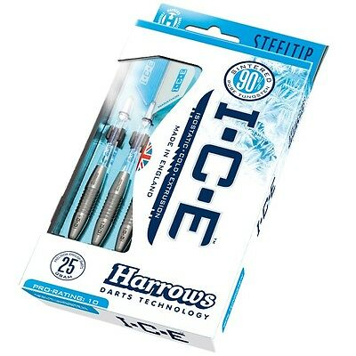 Ice Darts from Harrows 90% Tungsten Flights and Stems Included