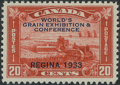 TMM* 1933 Canada Stamp Grain Conf Issue Scott #203 VF mint/no hinge/old gum
