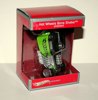 American Greetings Hot Wheels Bone Shaker Christmas Ornament 2013 New Box