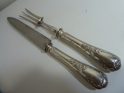 CHRISTOFLE MARLY CARVING SET 19th - brillant luster
