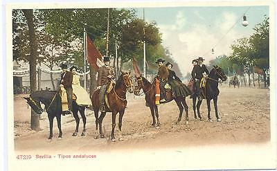C.r Postales Sevilla-Tipos Andaluces